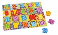 Рамка-вкладыш Mapacha Цифры (76728), 20 дет.