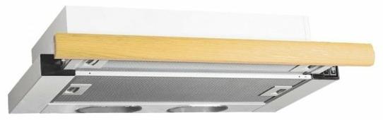 Встраиваемая вытяжка ELIKOR Интегра 60 белый / дуб выбеленный