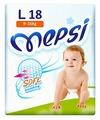 Mepsi подгузники Soft&breathing L (9-16 кг) 18 шт.