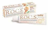 Зубная паста R.O.C.S. Baby с экстрактом Айвы 0-3 лет