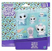 Игровой набор Littlest Pet Shop Семья петов B9346