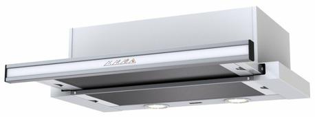 Встраиваемая вытяжка Krona Kamilla Sensor 2M 600 inox/white glass