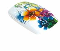 Мышь SmartBuy SBM-327AG-FL-FC Flowers Full-Color Print White USB