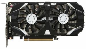 Видеокарта MSI GeForce GTX 1050 Ti 1341MHz PCI-E 3.0 4096MB 7008MHz 128 bit DVI HDMI HDCP OC Dual Fans