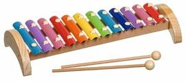 Мир деревянных игрушек ксилофон Д030 12 тонов (металлический)