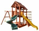 Спортивно-игровой комплекс Playgarden SkyFort Spiral со спиральной горкой