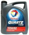 Моторное масло TOTAL Quartz 7000 10W40 4 л