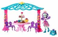 Игровой набор Mattel Enchantimals - Чаепитие Пэттер Павлины и Флэпа FRH49