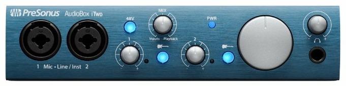 Внешняя звуковая карта PreSonus AudioBox iTwo