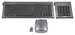 Клавиатура и мышь Kensington SlimBlade Media Notebook Set Black-Grey USB