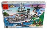 Конструктор Qman CombatZones 820 Военный корабль (крейсер)