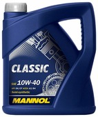 Моторное масло Mannol Classic 10W-40 4 л