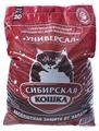 Наполнитель Сибирская кошка Универсал (20 л)
