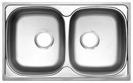 Врезная кухонная мойка UKINOX Classic CLP 780.480 20-GT8K