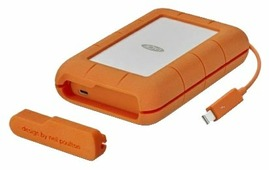 Внешний HDD Lacie Rugged Thunderbolt USB-C 4 ТБ