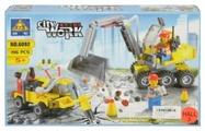 Конструктор Kazi City Builder 6092 Строительные работы