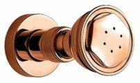Боковой душ встраиваемый Nicolazzi 5603.BZ бронза