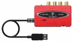 Внешняя звуковая карта BEHRINGER U-CONTROL UCA222
