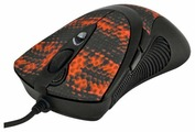 Мышь A4Tech XL-740K Black-Red USB