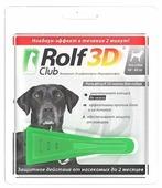 RolfСlub 3D Капли от клещей и блох для собак 40–60 кг