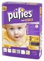 Pufies подгузники Art&Dry 3 (4-9 кг) 74 шт.