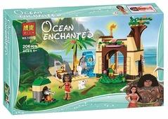 Конструктор BELA (Lari) Ocean Enchanted 10662 Приключения Моаны на затерянном острове