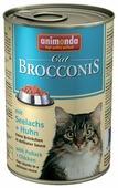 Корм для кошек Animonda Brocconis Cat с курицей, с сайдой 400 г (кусочки в соусе)