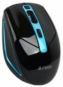 Мышь A4Tech G11-590FX-3 Black-Blue USB