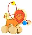 Каталка-игрушка Мир деревянных игрушек Лев (Д359)