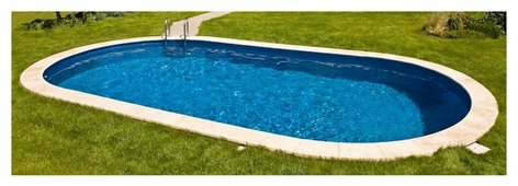 Бассейн Ibiza DL 3-120 Овальный (8 × 4.16 × 1.2 м)