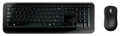Клавиатура и мышь Microsoft Wireless Desktop 800 Black USB