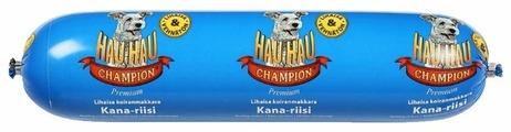 Корм для собак Hau-Hau Champion Колбаса с курицей и рисом