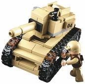 Конструктор SLUBAN Вооруженные силы M38-B0587B Танк