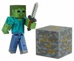 Игровой набор Jazwares Minecraft Зомби 16509