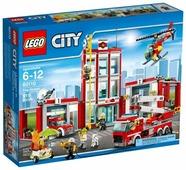 Конструктор LEGO City 60110 Пожарная часть