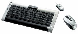 Клавиатура и мышь Genius LuxeMate 635 Black-Silver USB