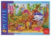 Пазл Hatber Cartoons Collection Подводный мир (60ПЗ5_09160), 60 дет.