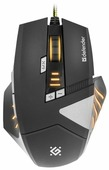 Мышь Defender Warhead GM-1760 Black USB