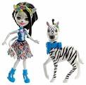 Кукла Enchantimals Зелена Зебра с питомцем FKY75