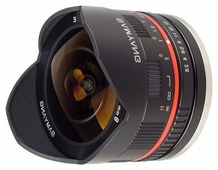 Объектив Samyang 8mm f/2.8 UMC Fish-eye Samsung NX
