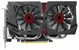 Видеокарта ASUS GeForce GTX 960 1253Mhz PCI-E 3.0 4096Mb 7010Mhz 128 bit DVI HDMI HDCP
