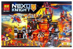 Конструктор BELA Nexo Knight 10521 Логово Джестро
