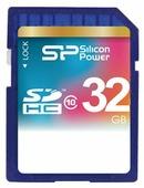 Карта памяти Silicon Power SDHC Card Class 10
