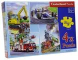 Набор пазлов Castorland Vehicles (В-04089)