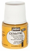 Краски Pebeo Ceramic Светло-желтый 025033 1 цв. (45 мл.)