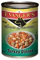 Корм для собак Evanger's Super Premium Turkey Dinner консервы для собак