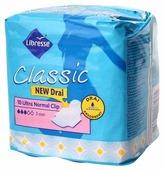 Libresse прокладки Classic Ultra Normal Clip с поверхностью-сеточка