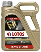 Моторное масло LOTOS Synthetic Turbodiesel 5W-40
