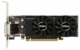 Видеокарта MSI GeForce GTX 1050 Ti 1290MHz PCI-E 3.0 4096MB 7008MHz 128 bit DVI HDMI HDCP LP