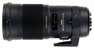 Объектив Sigma AF 180mm f/2.8 APO EX DG OS HSM Macro Minolta A